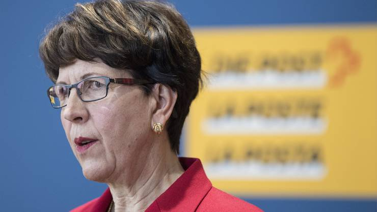 Post-Chefin Susanne Ruoff muss ihren Sessel nicht räumen. Der Verwaltungsrat spricht ihr das Vertrauen aus. (Archivbild)