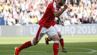 Schrieb mit seinem Tor gegen Rumänien ein Stück Schweizer Fussball-Geschichte: Admir Mehmedi