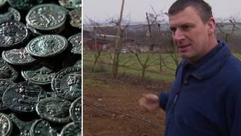 Schatz noch grösser: Bauer findet weitere Silbermünzen