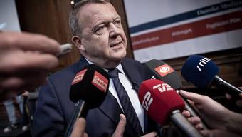 Dänemarks ehemaliger Ministerpräsident Lars Løkke Rasmussen (im Bild) ist am Samstag von seinem Posten als Chef der bürgerlich-liberalen Oppositionspartei Venstre zurückgetreten. (Archivbild)
