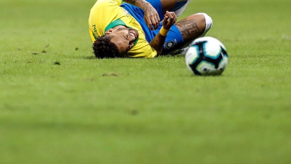 Forfait von Neymar für Copa America