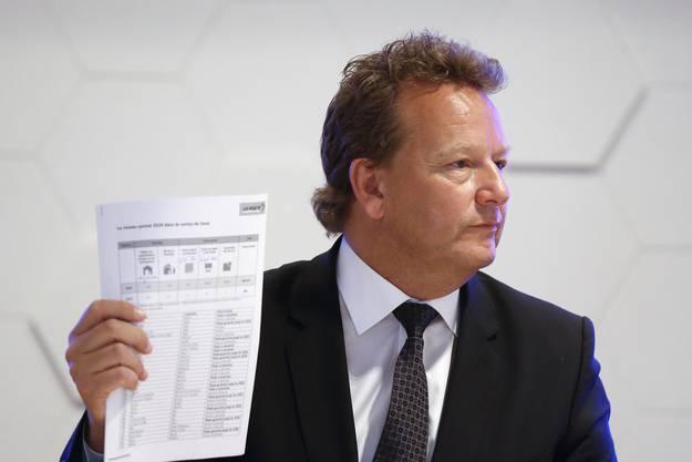 Bereits Leiter des Geschäftsbereich PostNetz. Er übernimmt ab sofort die interimistische Leitung der Postauto AG, während die Suche nach einem Nachfolger läuft.