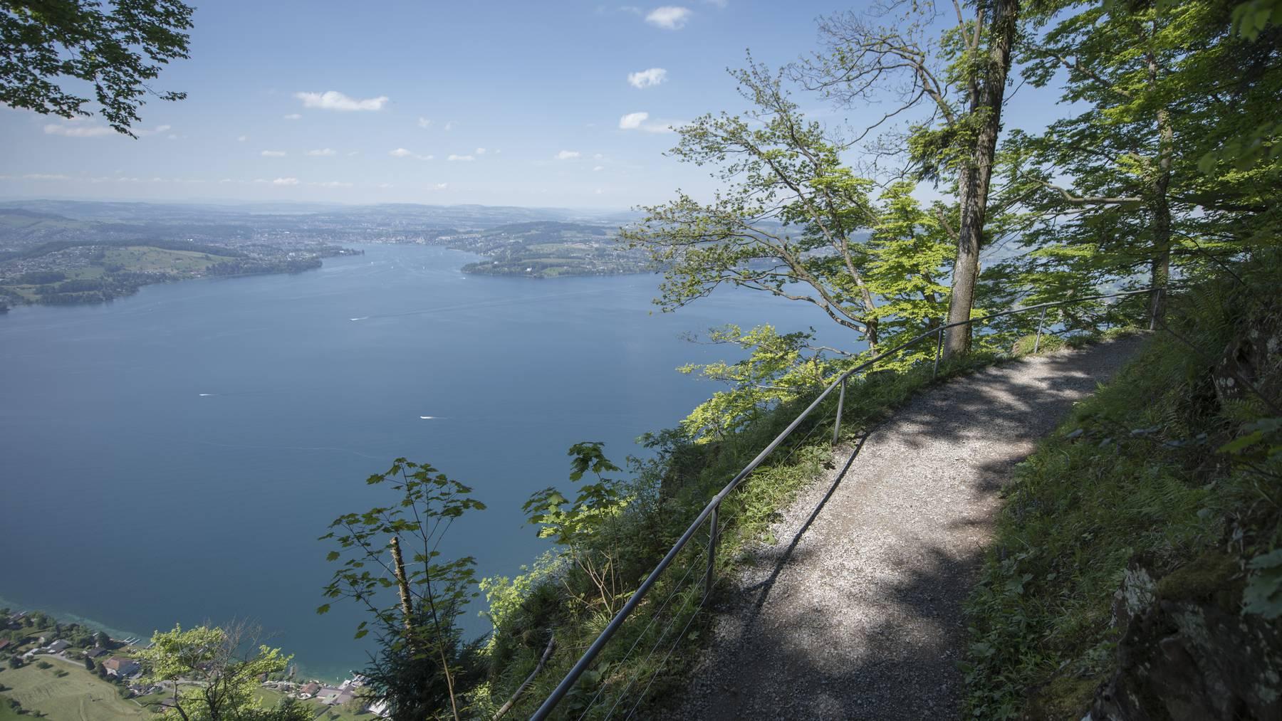 Ab Pfingstsamstag ist der Felsenweg auf dem Bürgenstock wieder geöffnet.
