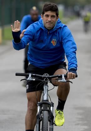 Beim FC Basel hatte Davide Callà nur noch eine Statistenrolle inne. Nun darf er bei Winterthur wieder auf dem Fussballplatz mitwirken.