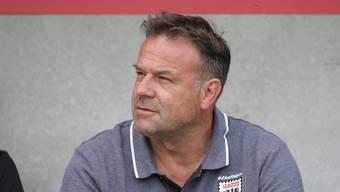 Der entlassene FCA-Trainer Patrick Rahmen verabschiedet sich mit Stil