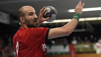 Kein Saisonhighlight für João Ferraz und seine Mitspieler beim HSC Suhr Aarau: Der Verband hat den Cupfinal definitiv abgesagt.