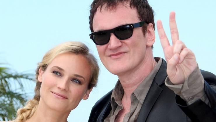Diane Krüger und Quentin Tarantino