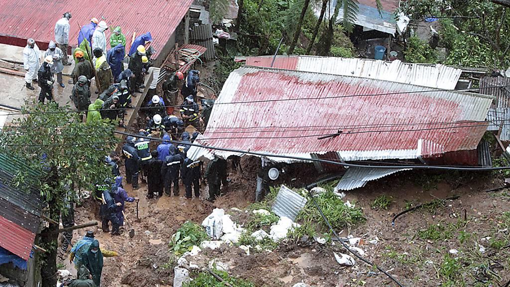 Tropensturm auf den Philippinen fordert mindestens 30 Todesopfer