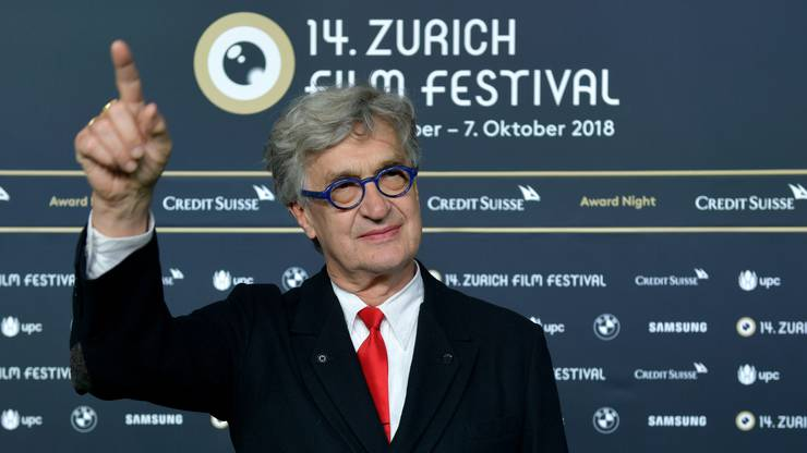 Regisseur Wim Wenders am Zurich Film Festival 2018