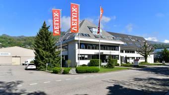 Das Gebäude der Velux AG an der Industriestrasse in Trimbach, das schon 2005 an die benachbarte R. Nussbaum AG verkauft wurde.