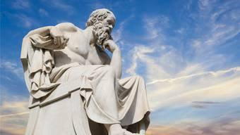 Für die Griechen (im Bild Sokrates) war das Alter noch kein Defizit.