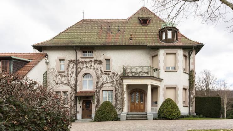 Seit 1990 ein Museum: Die Villa Langmatt.