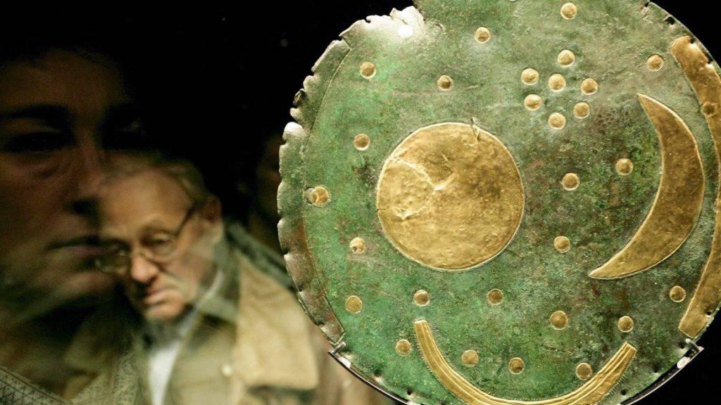 Die Himmelsscheibe von Nebra gilt als älteste konkrete Abbildung des Kosmos. (Archivbild)
