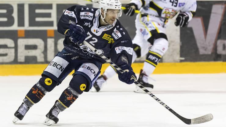 Diego Schwarzenbach kommt mit dem HC La Chaux-de-Fonds ein erstes Mal als Gegner des EHCO ins Kleinholz.