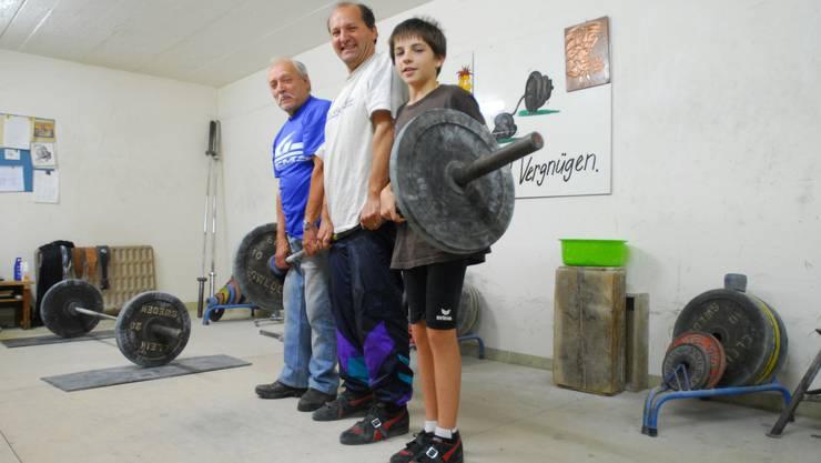 Drei starke Generationen, Kurt, Harald und Andreas Schenk