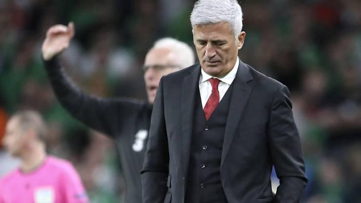 Vladimir Petkovic ist enttäuscht: Sein Team hat in Irland den Sieg verpasst