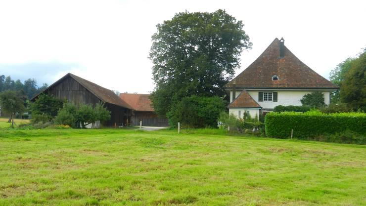 In diesem Speicher ist das Dorfmuseum Feldbrunnen-St.Niklaus untergebracht