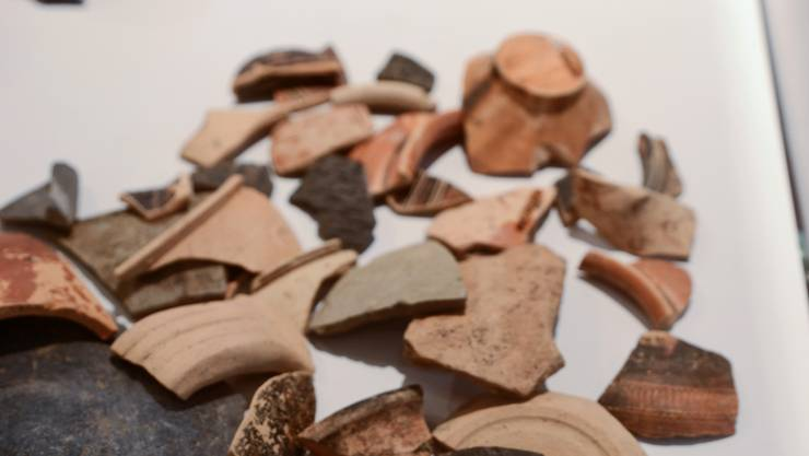 In der Geschichte fehlt ein Scherbe aus der Sammlung des Museums Blumenstein. (Symbolbild)