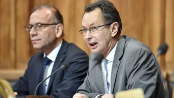 Philipp Müller (FDP/AG) bei einem Votum im Ständerat.