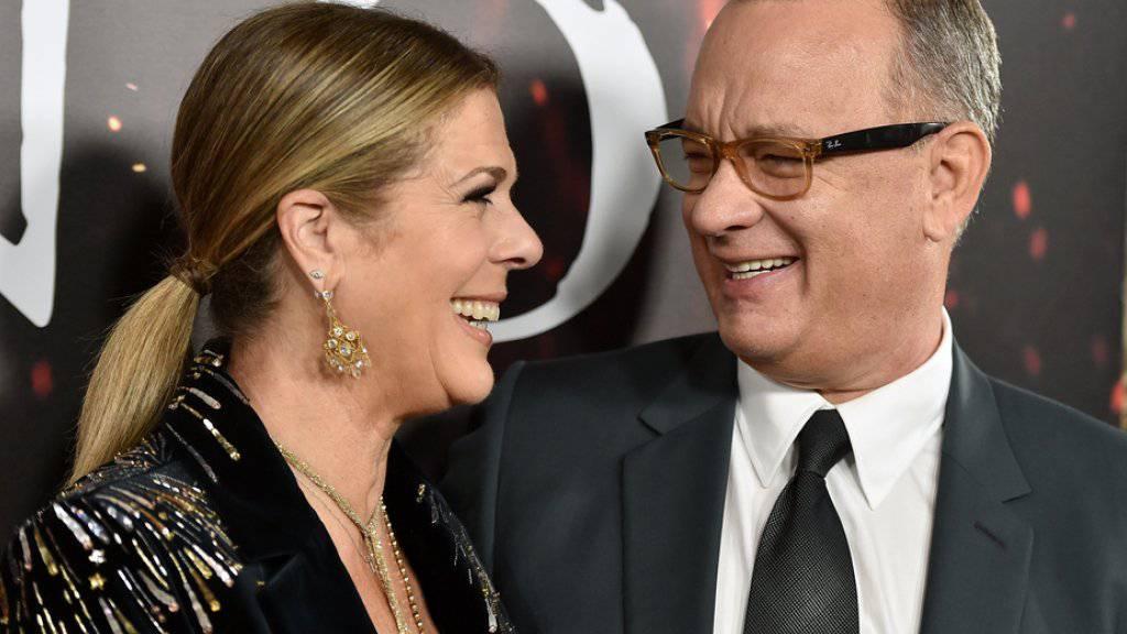 Rita Wilson ist seit fast 30 Jahren mit Tom Hanks verheiratet und findet ihn immer noch sexy (Archiv)