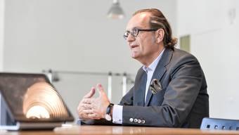 CEO der Versandapotheke Zur Rose: Walter Oberhänsli.