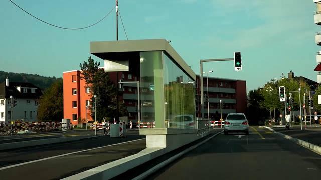 Von Zürich-Altstetten nach Killwangen – eine Fahrt auf der Strecke der geplanten Limmattalbahn, inklusive Haltestellen
