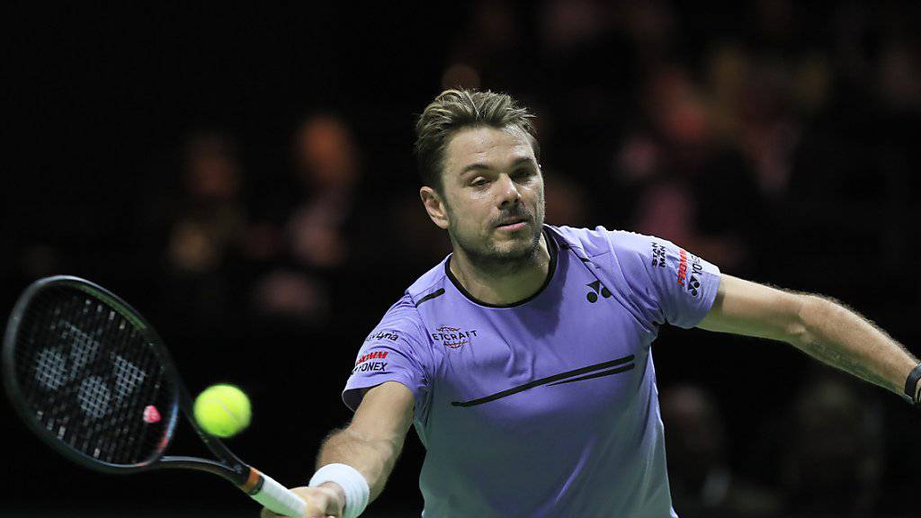 In einem spektakulären Final bezwungen: Stan Wawrinka verlor in Rotterdam gegen Gaël Monfils