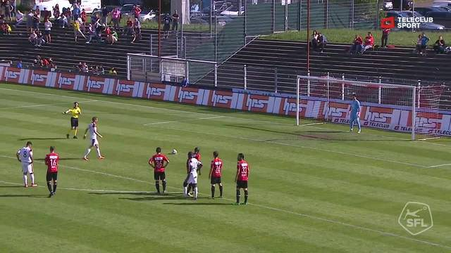 Challenge League, 2017/18, 36. Runde, FC Aarau – FC Vaduz, 2:1 Penalty Marko Devic