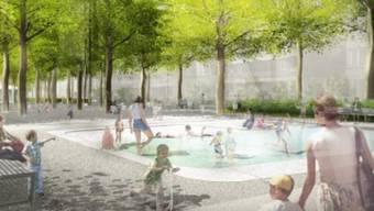 Auf Basis des Stadtteilrichtplans Gundeldingen soll der Winkelriedplatz zu einem attraktiven Grün- und Freiraum umgestaltet werden.