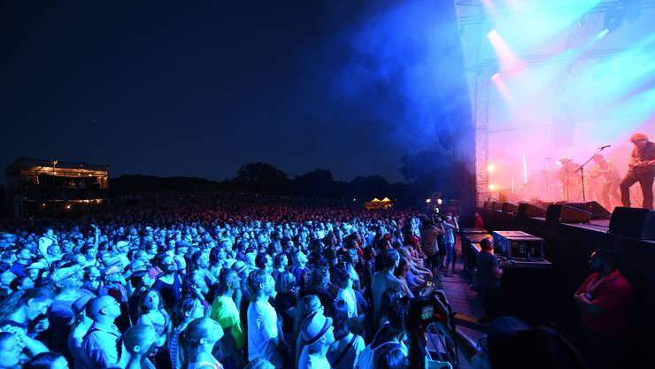 Patent Ochsner sorgten am Samstagabend dafür, dass das Summerstage-Festival im Park im Grünen aus allen Nähten platzte.
