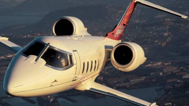Ein Learjet (Symbolbild).