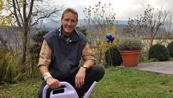 Peter Hugentobler: «Auch jetzt brauchen Pflanzen Wasser.» (Bild: pwe)