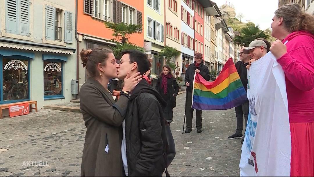 Küssen gegen Diskriminierung