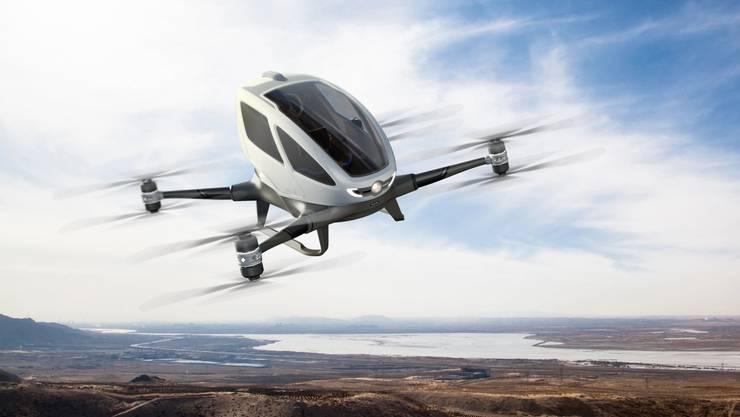 250'000 Dollar. So viel kostet eine Personen-Drohne des chinesischen Herstellers Ehang. In Dubai sollen sie bereits diesen Sommer als Lufttaxi den Betrieb aufnehmen.