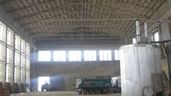 Diese Halle mit der filigranen Dachkonstruktion aus Beton soll erhalten werden.