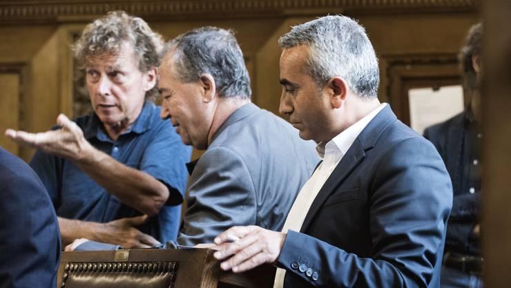 Im Basler Parlament sind Migranten mittlerweile ein fêster Bestandteil der Politik.