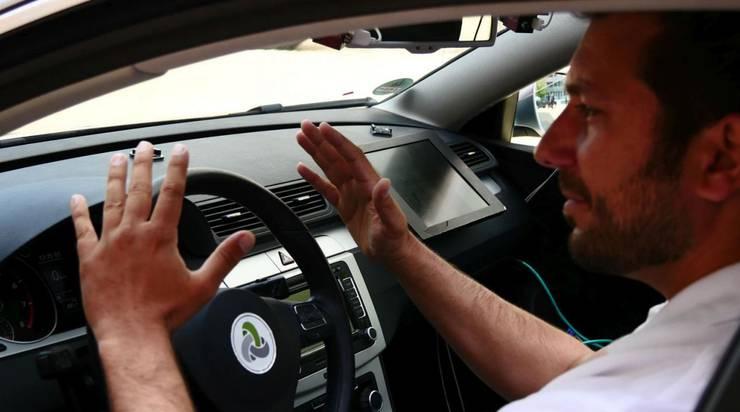 Hände weg vom Steuer - das selbstfahrende Auto braucht keinen Fahrer mehr