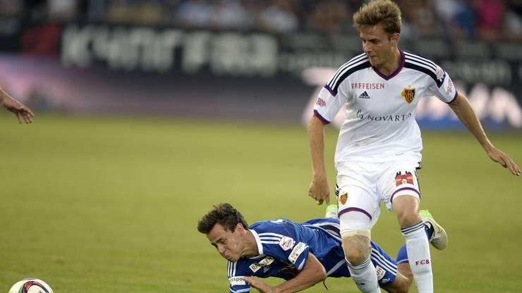 Auch er wird in seiner ersten Saison beim FCB Meister: Der Däne Daniel Hoegh.