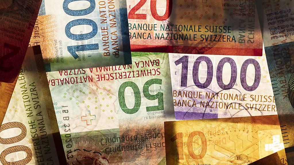 Düstere Aussichten für den St. Galler Staatshaushalt in den kommenden Jahren: Die Regierung lanciert ein Sparprogramm von bis zu 160 Millionen Franken (Symbolbild).