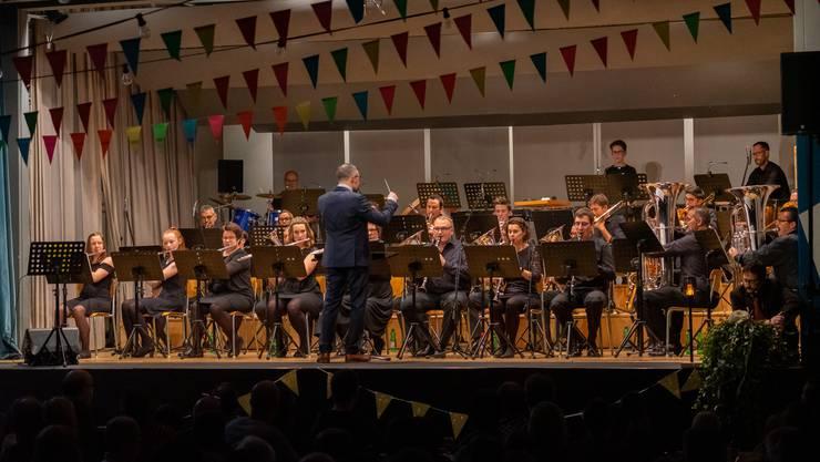 Die Spielgemeinschaft der Musikgesellschaften Eintracht Kestenholz und Konkordia Oberbuchsiten - Immer wieder sehen- und hörenswert.