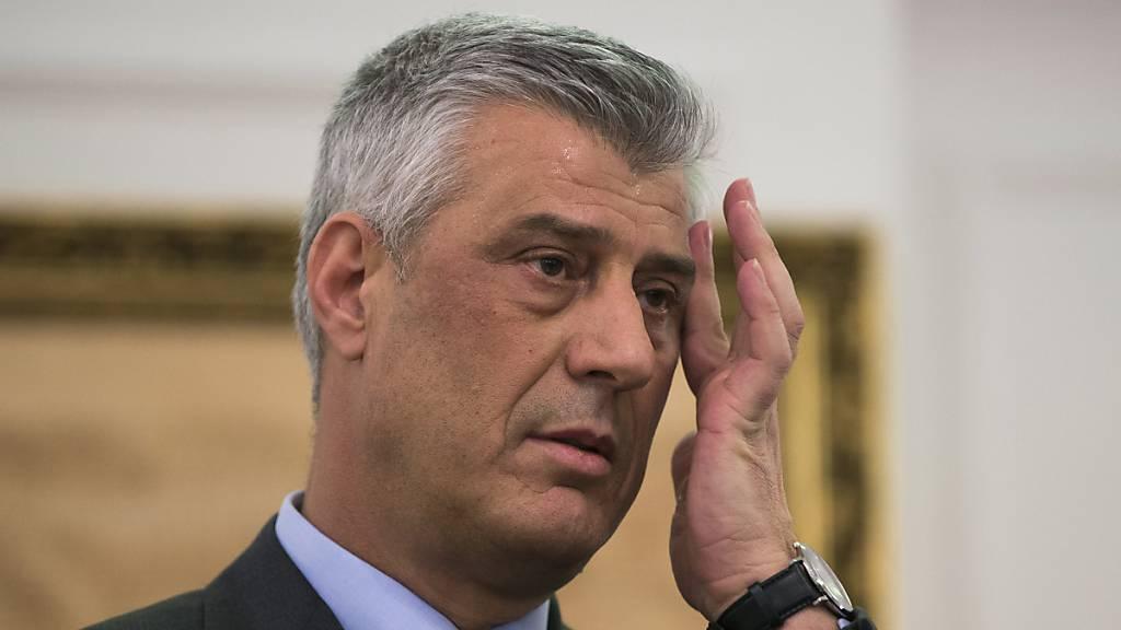 Kosovos Präsident stellt sich Anklage: «Preis der Freiheit»