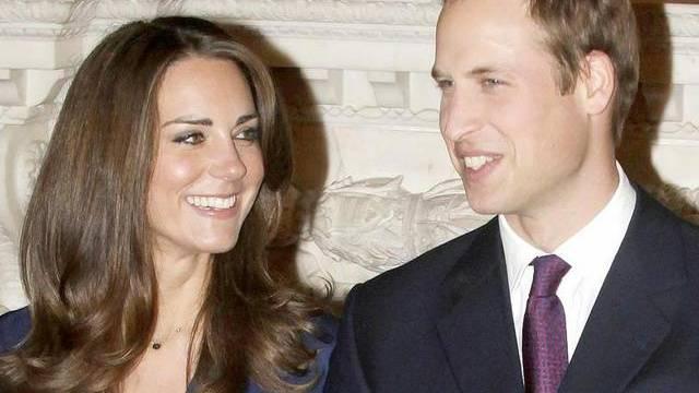 Kate Middleton und Prinz William werden von Erzbischof Rowan Williams getraut