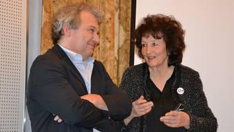 Markus Reisle und Bea Heim gingen sehr detailliert auf die Fragen des Publikums ein.