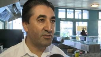 Der Pizzabäcker Ibrahim Sünbül wurde Opfer eines Einbruchs.