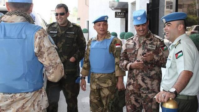 Werden zurückgeuzogen: UNO-Beobachter in Syrien (Archiv)