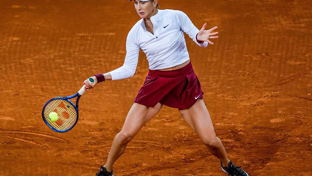 Belinda Bencic gewann das erste Duell in ihrer Karriere gegen Ons Jabeur