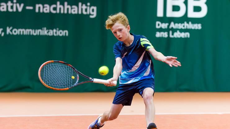 Als sein grösster Konkurrent gilt Frederik Tandeter, beide spielen für den TC Brugg.