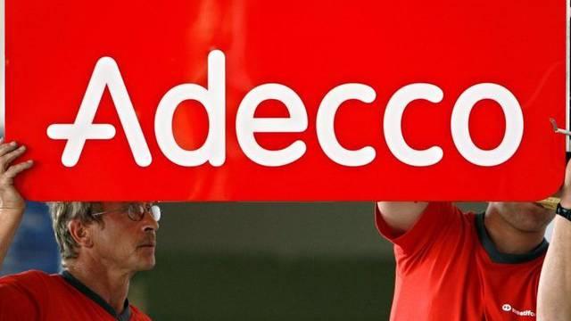 Der Stellenvermittler Adecco verzeichnet für den Sommer einen starken Umsatzrückgang (Archiv)