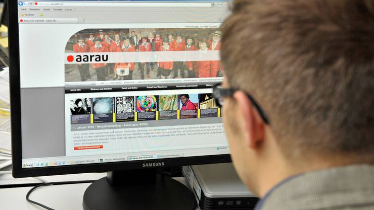 Neue Website für Aarau