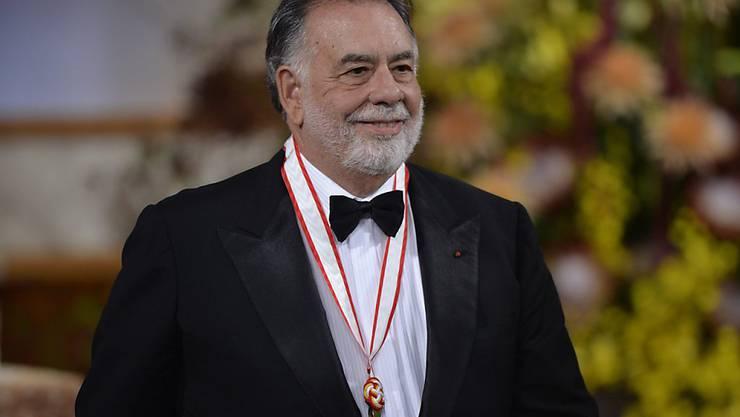 """Oscar-Preisträger und Regisseur Francis Ford Coppola wird am Sonntag 80 Jahre alt. All seine Erfahrung will er in sein Film-Projekt """"Megalopolis"""" einbringen, eine Zukunfts-Utopie, von der er seit Jahrzehnten träumt. (Archivbild)"""